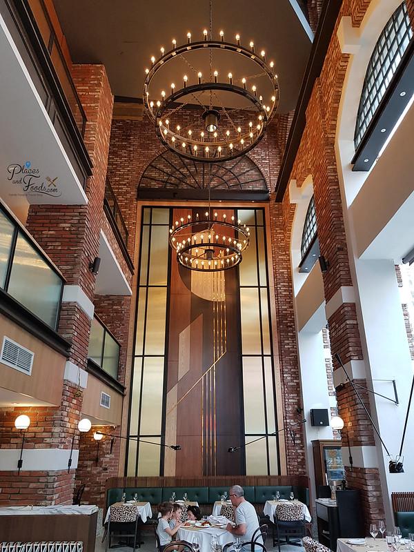 Brasserie Fritz interior
