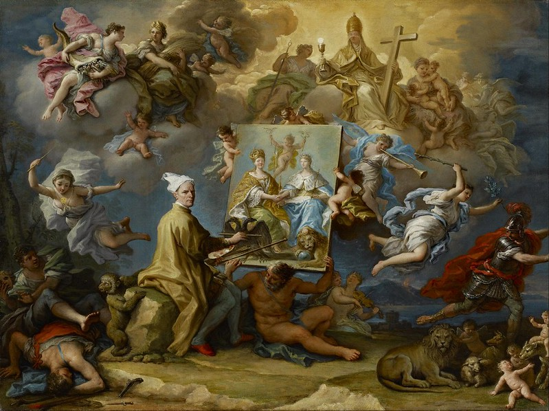 Paolo de Matteis - Allegory of the Consequences of the Peace of Utrecht