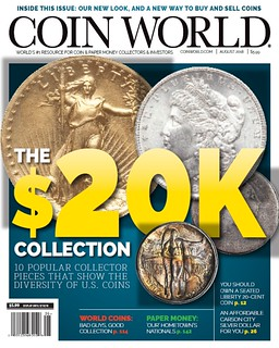 Coin World August 2018 cover