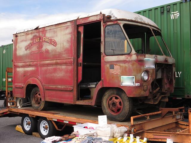 Rusted Ambulance