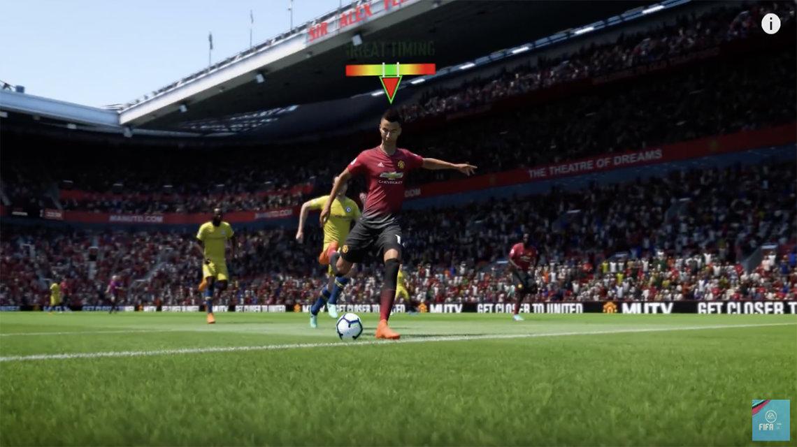 FIFA 19'da zamanlamalı bitiricilik