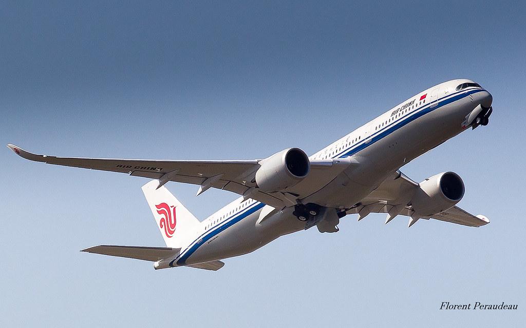 F-WZHG // B-1086 Air China Airbus A350-941 MSN 167