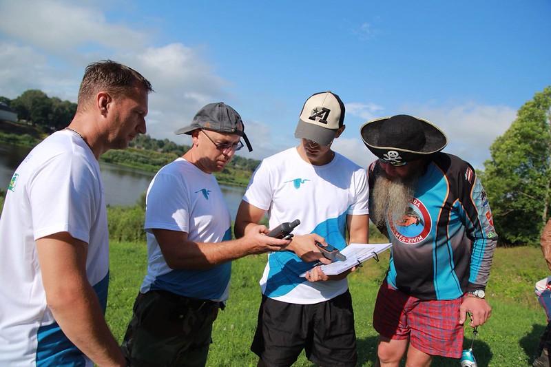 Daugavas ūdenstūrisma maršruta izpētes ekspedīcija piestāj Krāslavas novadā