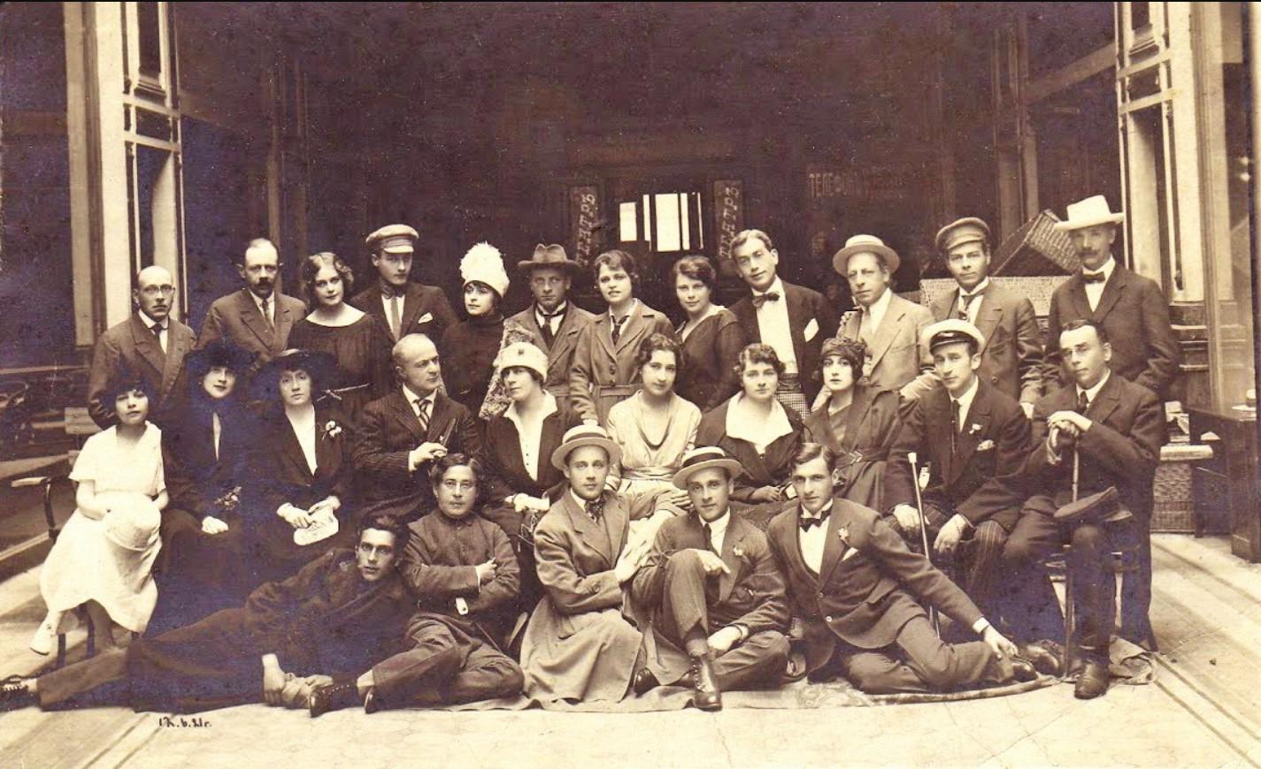 1921. Артисты одного из петроградских театров