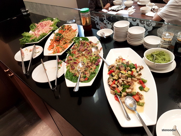 Blossom Vegetarian Salad bar