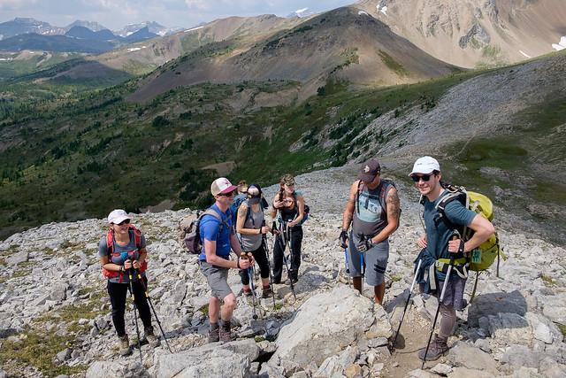 Scrambles - Mt. Bourgeau-2