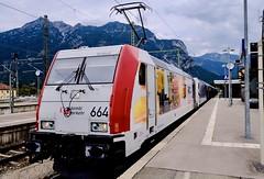 Lokomotion Güterzug in Garmisch-Partenkirchen