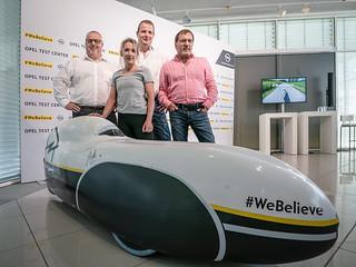 Velomobil-Weltrekord in Dudenhofen