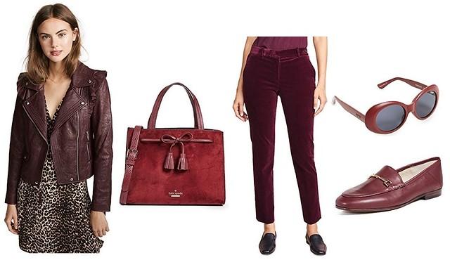 Shopbop - burgundy