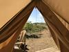 Utsikt-glamping-telt-Lomsesanden