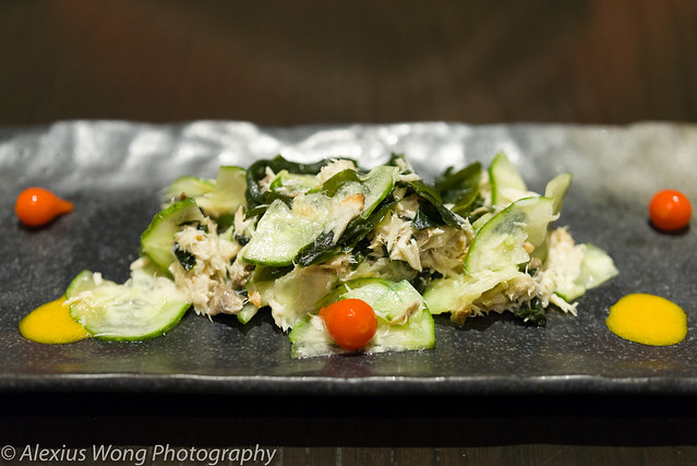 Cucumber and Smoked Mackerel Salad
