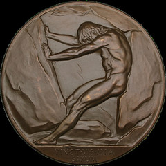 Nitroglycerin Corporation medal obverse