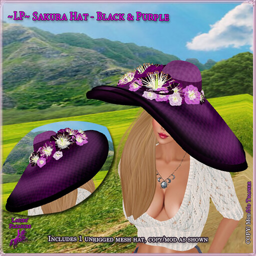 ~Ladies' Pleasure~ Sakura Hat