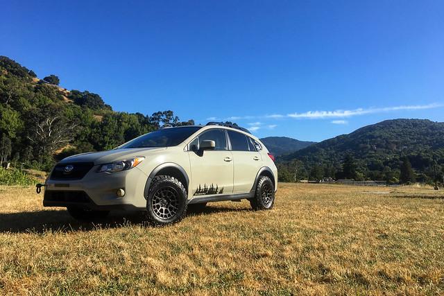 Black Rhino Boxer on Subaru Crosstrek