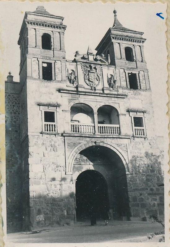 Puerta del Cambrón en 1962. Fotografía de Julián C.T.