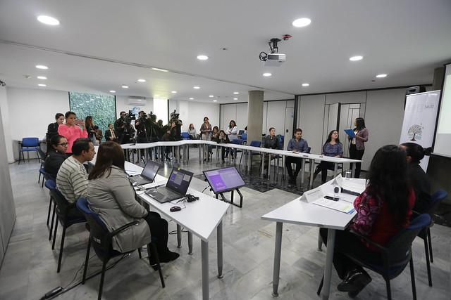 """Lanzamiento del Curso Virtual """"Identificación Señales de Alerta de Riesgo frente al consumo de alcohol y otras drogas para los profesionales DECE"""""""