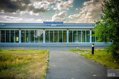 Altenburg airport civil terminal