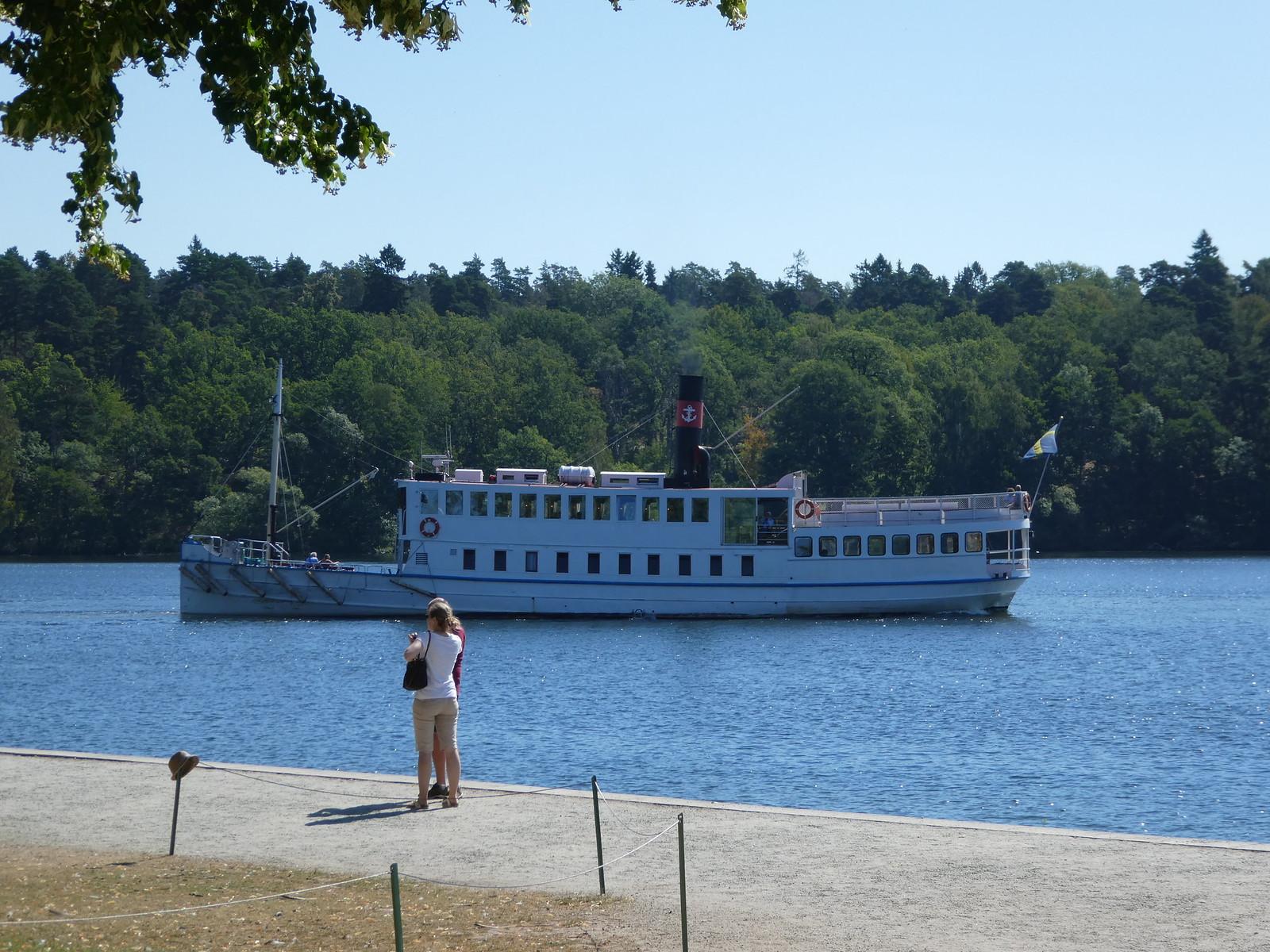 Drottningholm Palace ferry boat, Stockholm
