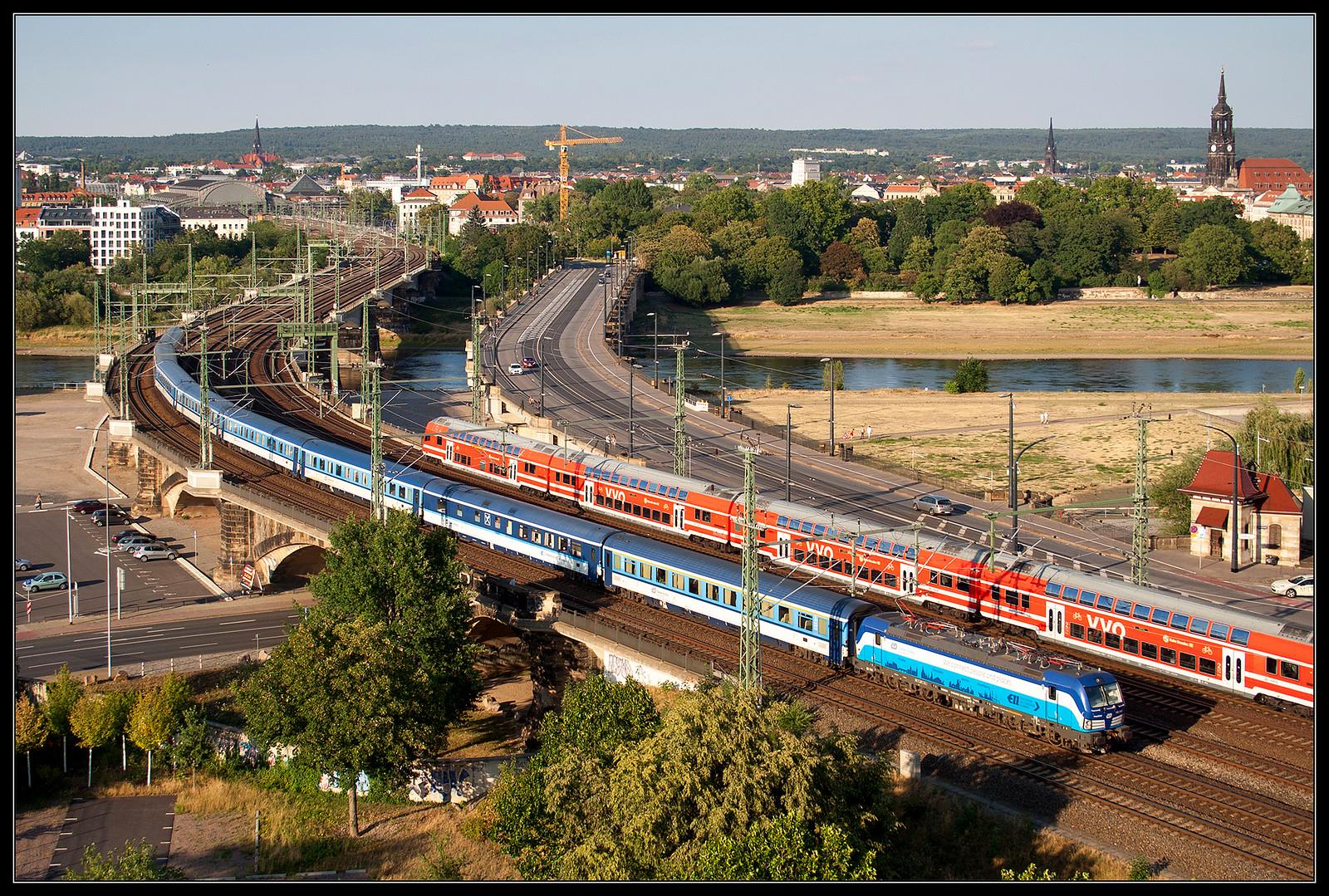 ČD 193 293 @ Dresden Marienbrücke
