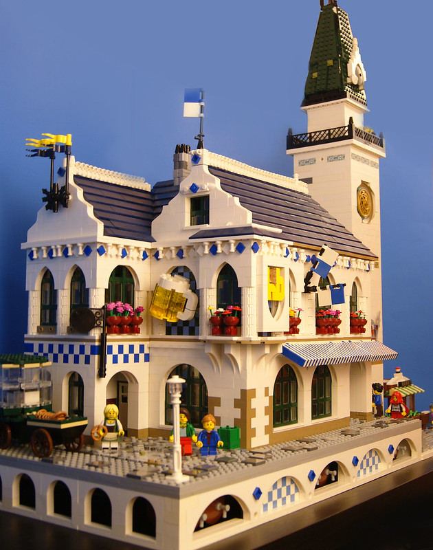 Lego Bavarian Beer Hall 1