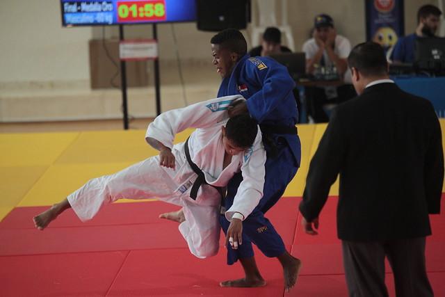 Oro del judoca Julio Molina en Barranquilla