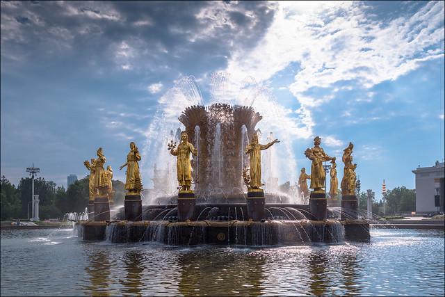 Russia. Moscow. Fountain Friendship, Panasonic DMC-GX8, Leica DG Summilux 25mm F1.4 Asph.