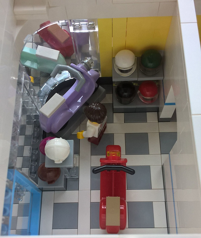 Lego Scooter Shoppe