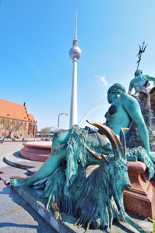 Visit the Neptune Fountain on 2 days in Berlin Itinerary