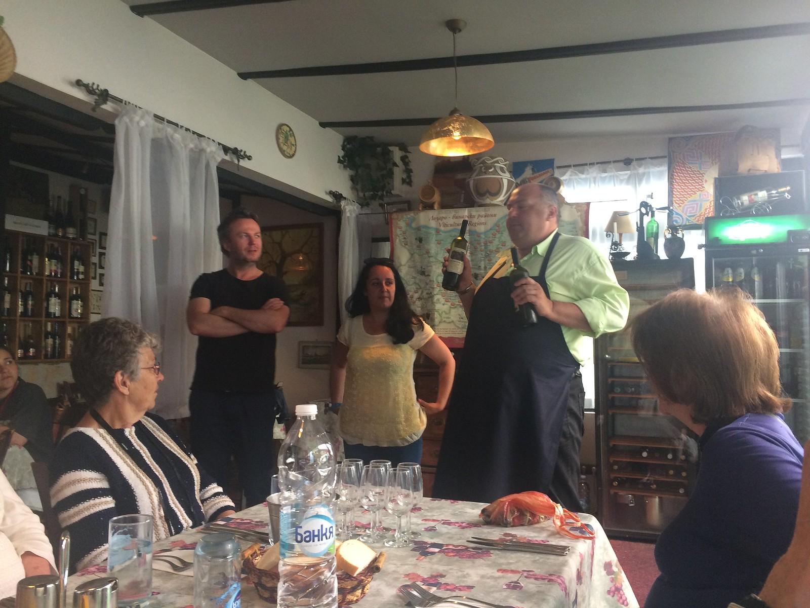 201705 - Balkans - Audrey, Slaviša, Maria, Sommelier, Sarel - Wine Tasting - 30 of 95 - Varna - Varna, May 25, 2017
