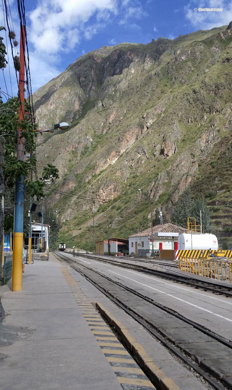 Ollantaytambon juna-asema, Peru