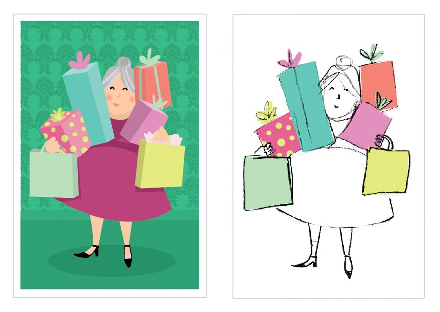 SueBee-2018-Christmas-Postcards