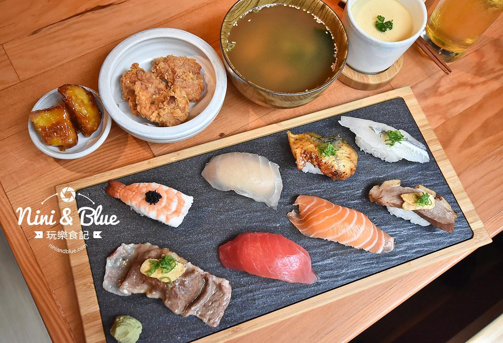 一笈壽司 台中 公益路 YIJI sushi 菜單18