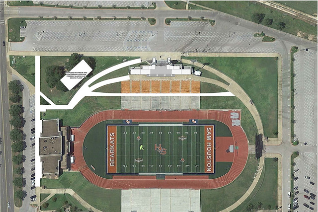 Bowers Stadium Renderings