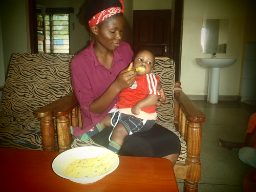 Neema with Baby Jamie