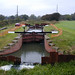 Coates Lock, Pocklington Canal, during Restoration