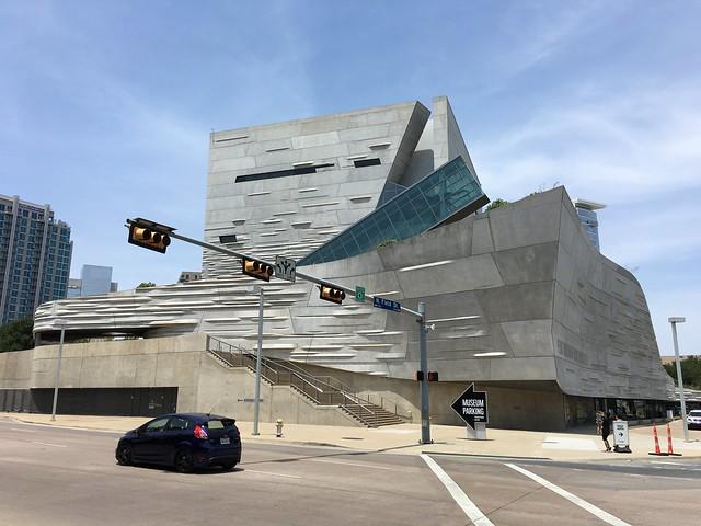 Perot museum in Dallas