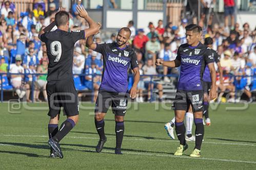 Pretemporada: C.D. Leganés 3-0 Rayo Majadahonda 28/07/2018