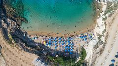Luftbild Kapparis beach Zypern