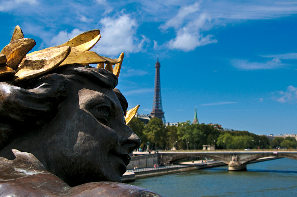 Nymphs of Paris   Pont Alexandre III