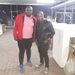 DJ Kyos with eyadini owner MJ  holidays #dj #producer #photograph #shortleft #life #fun #celeblifestyle #life #nicetime #model #celeb #celebrity #selfies #selfie #picture #photos #De_philosopher_DJKyos #DJKyos #mj #eyadini #eyadinilounge #iyadilizokumanga