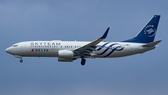 Boeing 737-832(WL) N3761R Delta Air Lines - SkyTeam Livery