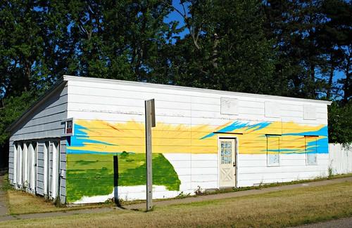 Almond, Wisconsin Mural
