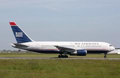 N252AU Boeing 767-2B7ER US Airways
