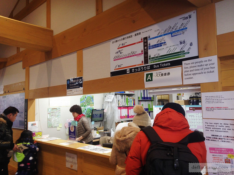 Babymoon ke Jepang - Shirakawa-go Bus Terminal