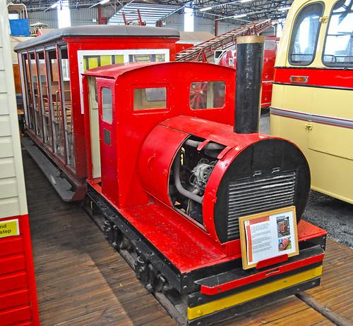 Ramsey pier train
