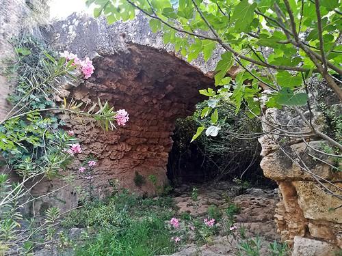 antiguo puente romano peñaflor  sevilla españa