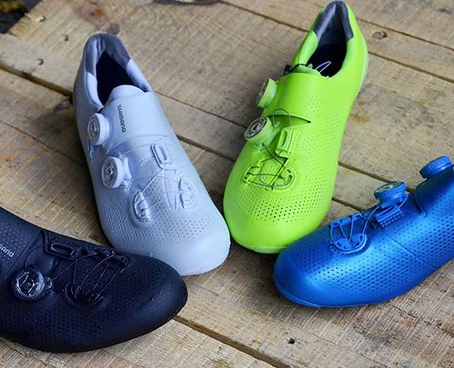 The Shimano S-Phyre RC9 line up for 2019. DM us for prices and availability. #cyclingkicks #cyclingshoes #roadbikes