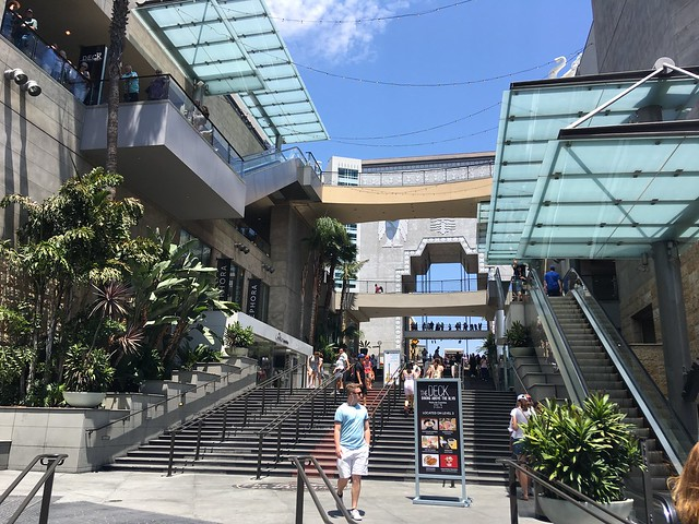 Outdoor Mall at The Hollywood Walk of Fame