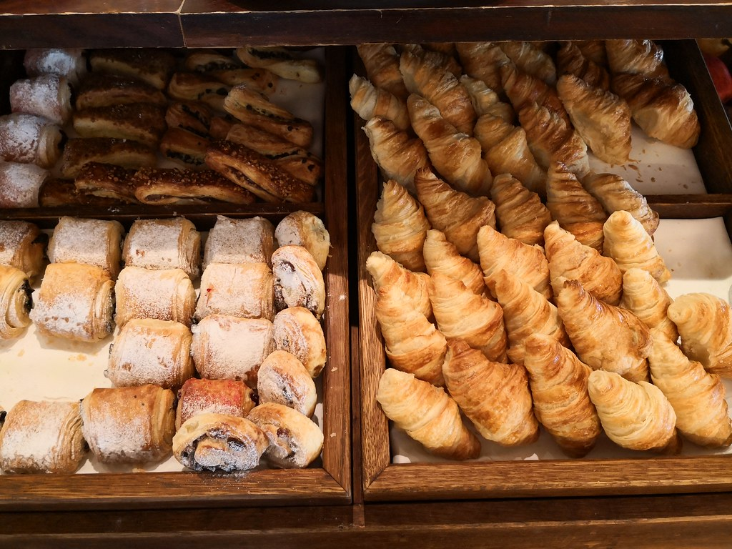 Croissant and pastries
