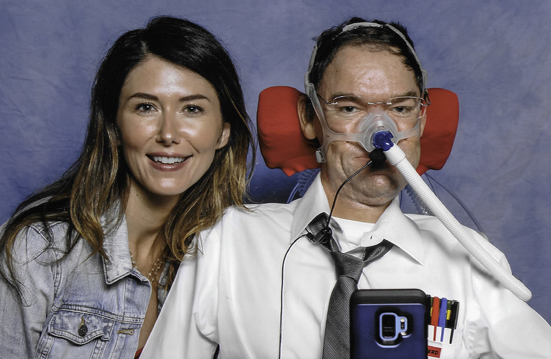 Jewel Staite with Daniel Baker at LFCC 2018
